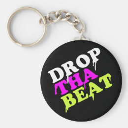 Drop The Beat Keychain | Party Gift Ibiza House
