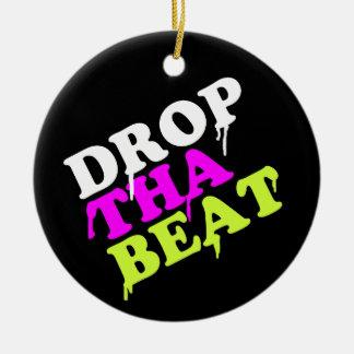Drop The Beat Christmas Tree Ornaments