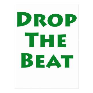 Drop The Beat Postcard