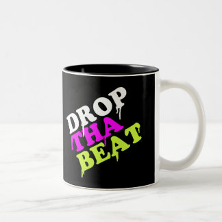 Drop The Beat Two-Tone Coffee Mug