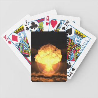 Drop the bomb bicycle playing cards