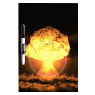 Drop the bomb Dry-Erase board