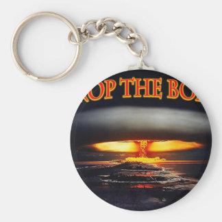 Drop the Bomb jpg Keychain