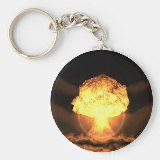 Drop the bomb keychain