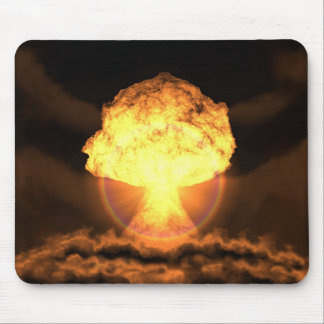Drop the bomb mouse pad