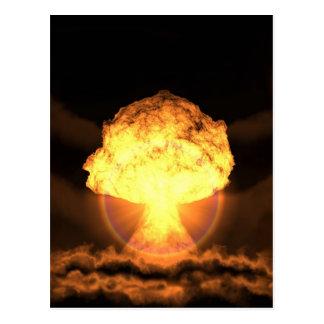 Drop the bomb postcard
