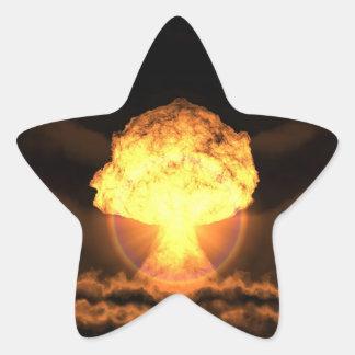 Drop the bomb star sticker