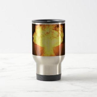 Drop the bomb travel mug