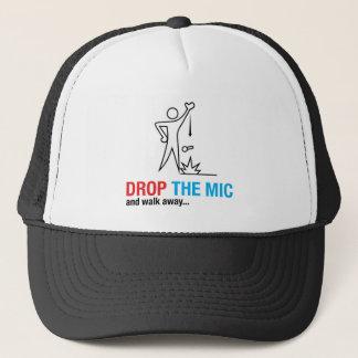 Drop The Mic Trucker Hat