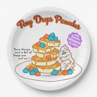 < Drop van cake >  Drops ON pancakes Paper Plate
