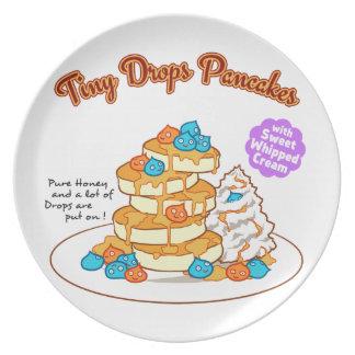 < Drop van cake >  Drops ON pancakes Plate