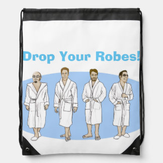 Drop Your Robes Cruise Bag Backpacks