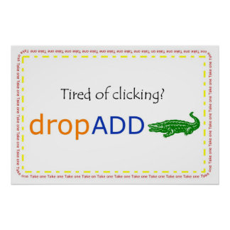dropADD promo banner Poster