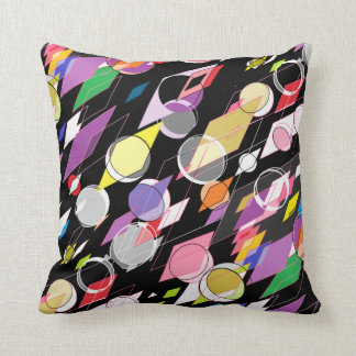 Droplet Color Throw Pillow