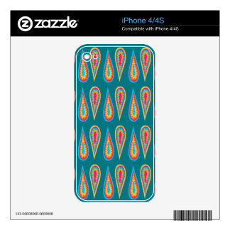 Droplet Design now available on iPhone 4/4S Skin iPhone 4 Decals