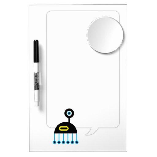Dropoff Dry-Erase Whiteboard