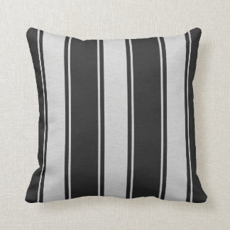 Dropped Lines White-Black Decor-Soft Pillows