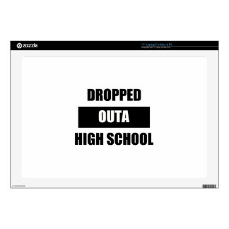 DROPPED OUTA HIGH SCHOOL DECALS FOR LAPTOPS