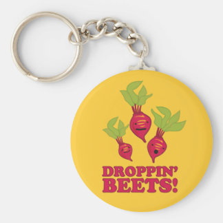 Droppin' Beets Keychain