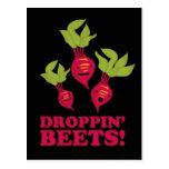 Droppin' Beets Post Card
