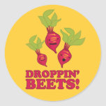 Droppin' Beets Sticker