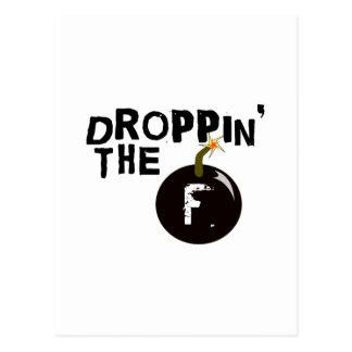 Droppin la bomba de F Postales