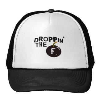 Droppin' The F Bomb Mesh Hats