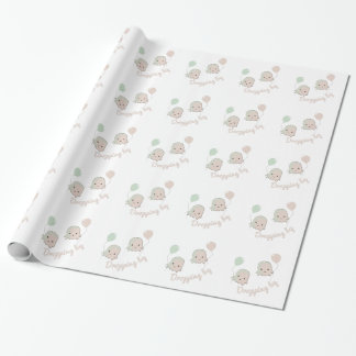 Dropping By Gift Wrapping Paper