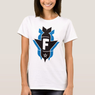Dropping F Bombs - Blue T-Shirt