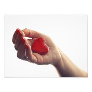 Dropping heart art photo