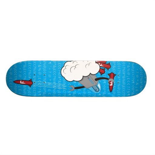 Dropping the F_bomb Skateboard Deck