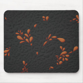 Drops (Gold) Mouse Pad