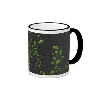 Drops (Green) Ringer Mug
