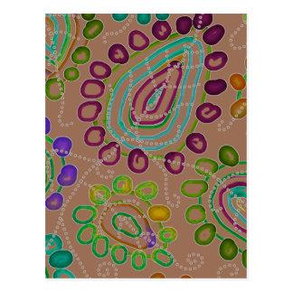 Drops Morphed 2 Postcard