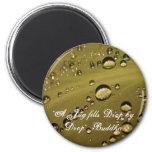 Drops of Rain Refrigerator Magnet