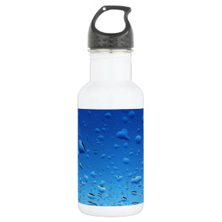 Drops of Rain Stainless Steel Water Bottle