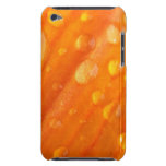 Drops On Bright Orange Flower Barely There iPod Case