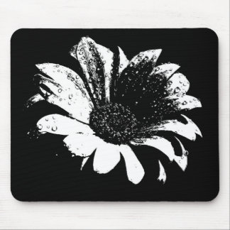 Drops on Daisy Mouse Pad