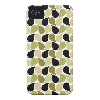 Drops Pattern custom iPhone 4 case-mate