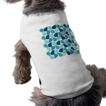 Drops Pattern custom pet clothing