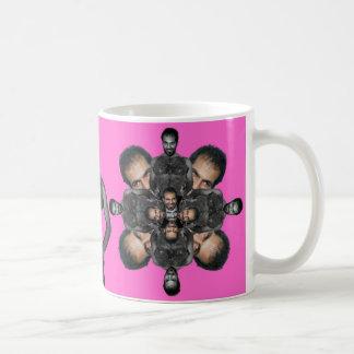 Dror de baile caleidoscópico taza de café