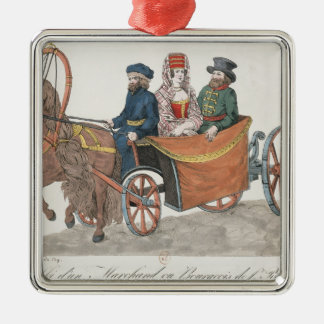 Droshky of a St. Petersburg Merchant Ornament