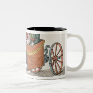 Droshky of a St. Petersburg Merchant Two-Tone Coffee Mug
