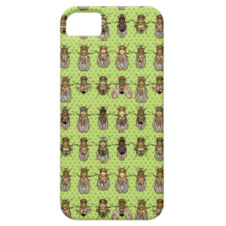 Drosophila Fruit Fly Genetics - mutants - Lime iPhone SE/5/5s Case