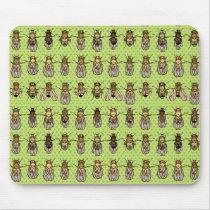 Drosophila Fruit Fly Genetics - mutants - Lime Mouse Pad