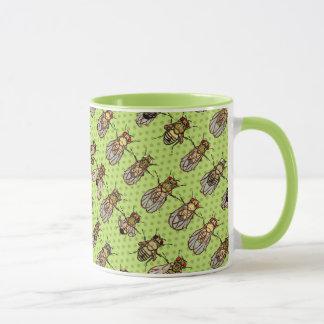 Drosophila Fruit Fly Genetics - mutants - Lime Mug
