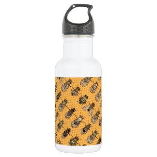 Drosophila Fruit Fly Genetics - mutants - Tangerin Stainless Steel Water Bottle