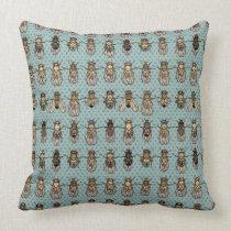 Drosophila Fruit Fly Genetics - mutants Throw Pillow