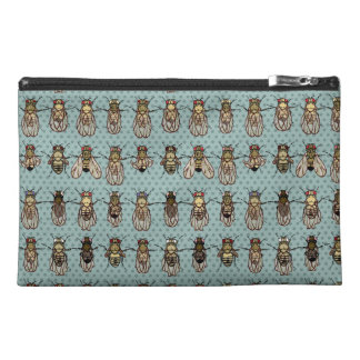 Drosophila Fruit Fly Genetics - mutants Travel Accessory Bag