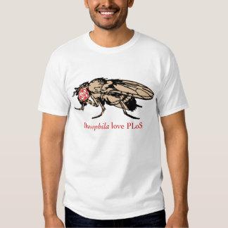 Drosophila Love PLoS T-Shirt